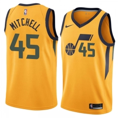 Donovan Mitchell Utah Jazz Throwback  Swingman Jersey
