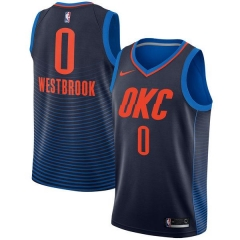 RUSSELL WESTBROOK OKLAHOMA CITY THUNDER  STATEMENT SWINGMAN JERSEY
