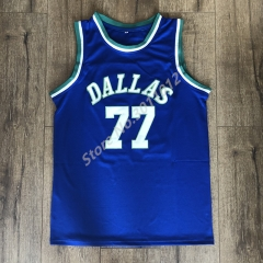 2018 New luka Doncic Dallas Throwback Basketball Jersey Men Size S-XXL