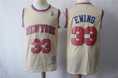 Men's New York Knicks Patrick Ewing Hardwood Classics Jersey