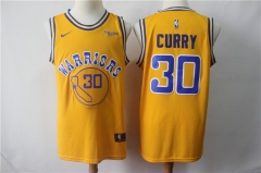 Men's Golden State Warriors Stephen Curry Throwback Swingman Jersey