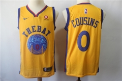 Men's Golden State Warriors DeMarcus Cousins Throwback Swingman Jersey