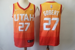 Men's Utah Jazz Rudy Gobert Throwback Swingman Jersey