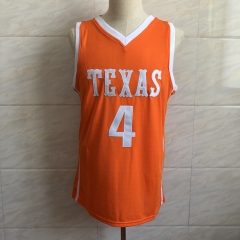 #23 Mo Bamba Texas College Basketball Jersey Men's Embroidery Stitched Jerseys