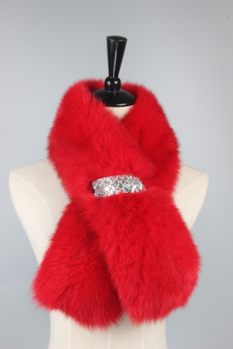 Fox Fur Scarfs