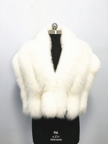 2018 Fashion Women Fox Fur Scarf