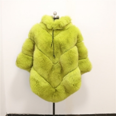 2019 Women Real Fox Fur Shawl