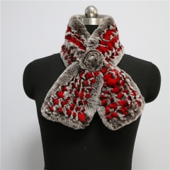 Free Shipping---Lady Winter Warmmer Real Fur Scarf