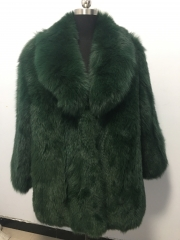 Fashion men's choice, real fox fur coat for man