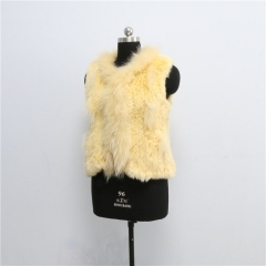 new style fashion rex rabbit fur vest wholesale price waistcoat