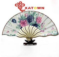 Chinese wind, Women, Dragon folding fan