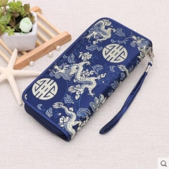 Embroidered wallet, Chinese style, Handicrafts, Ladies handbags, Small gifts