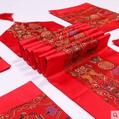 Nanjing specialty, Yunjin table flag, Silk embroidery, Chinese characteristics gifts
