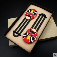 Peking Opera bookmarks, Chinese wind gifts, Souvenirs