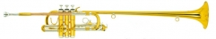 Bb Herald trumpet Lacquer Finish With Hard case In...
