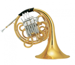 F/Bb Four Flat Double Row French Horn Brass instru...