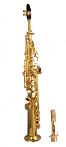Bb Soprano Saxophone With ABS case and mouthpiece Wood wind musical instruments OEM Export