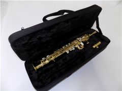 Eb One-piece Sopranino Saxophone Yellow Brass Body...