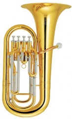 Hi-Grade Euphonium 4 Pistons Lacquer Finish with M...