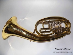 High Grade Bb Baritone Horn Four Rotary Valves Bra...