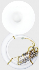 Fiberglass Sousaphone Bb Flat with Mouthpiece and ...