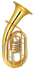 4 Rotary valves Euphonium with Mouthpiece and case...