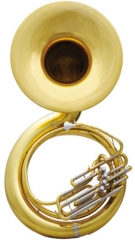 Brass Sousaphone Bb Pitch Bell Size 660mm (25.98 i...