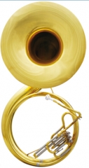 Brass Sousaphone Tuba Bb Pitch Big Bell Size 660mm...