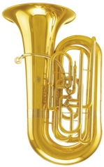 4/4 Tuba Four Frontal Bb Flat 903.5mm Height Brass...