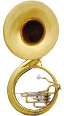 Brass Sousaphone Tuba C Pitch 605mm (23.8 inch) wi...