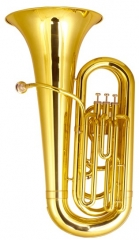 1/4 Tubas Three Piston Bb Flat 827 mm Height Brass...