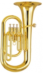 Bb Brass Euphonium 3 pistons With case and mouthpi...