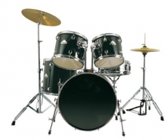Black PVC Drum Set 5 pieces Drum set for Sale
