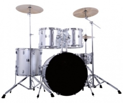 Silver Color 5-pieces PVC Drum Sets for sale