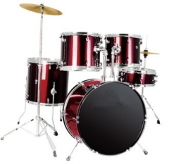 5-pc PVC Drum Sets 6-ply Shells Musical instrument...