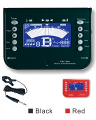 Metronome Tuners 410-490Hz Blue Display LCD/LED 3V...