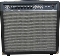 60 Watt 8 ohm Guitar Transistor Amplifier for sale