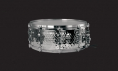 Hammered Steel Snare Drums Solid Chrome Lugs Die-c...