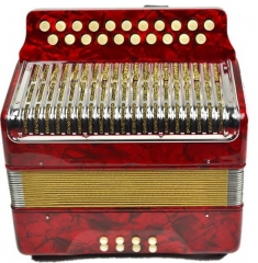 Standard Grade Accordion 21 Buttons 8 Bass Musical...