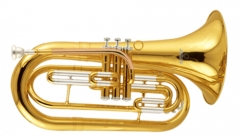Marching Baritone Bb Tone Brass musical instrument...