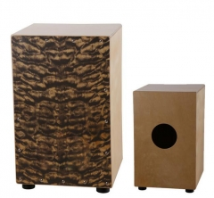 Cloud pattern front Cajon Drums Musical instrument...