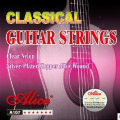 Classic Guitar string Nylon Core Silver plated Cop...