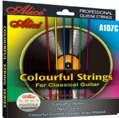 Classic Guitar Colorful string Nylon Core Musical ...