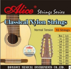 Classical Guitar Strings 10-String Musical instrum...
