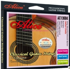 Black Nylon Classical Guitar Strings Musical instr...