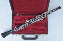 Auto C key Ebony Oboe with wood case Musical instr...
