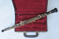 Professional Semi-Auto C key Ebony Oboe with wood ...