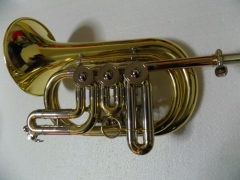 Bb Rotary valve Cornet with Hard case China Cornet...
