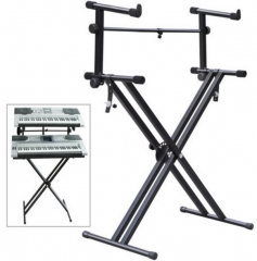 High quality Double Keyboard Stand Musical instrum...