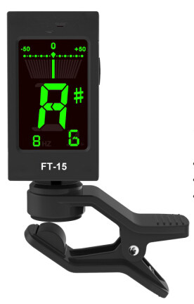 NEW Clip on Tuner LCD display Include Battery Musical instruments Accessory Guitar Accessories